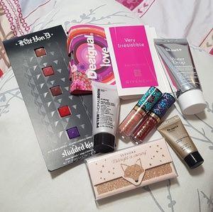 Makeup sample kit